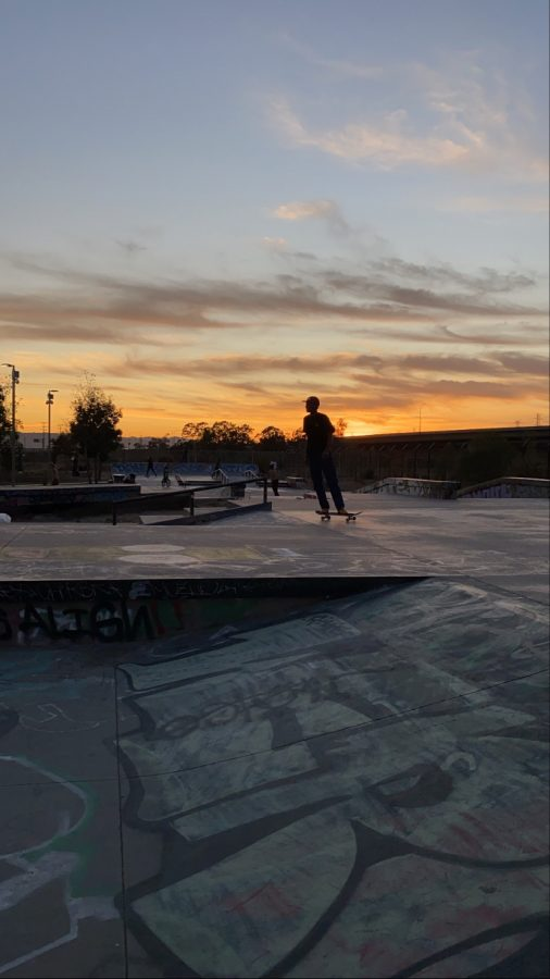A picture from the skate park.